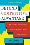 Beyond Competitive Advantage