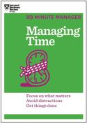 20 Minute Manager: Managing Time (Chinese)