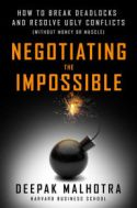 Négocier l'impossible